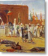 Moorish Procession Metal Print