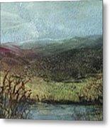 Moorland View 2 Metal Print