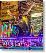 Moose Head Saloon II Metal Print