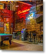 Moosehead Saloon Metal Print