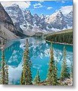 Moraine Lake - Banff National Park - Canada Metal Print