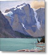 Moraine Lake Banff Metal Print
