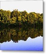 Moraine View State Park Pano 20140718-01 Metal Print