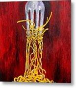More Pasta Please Metal Print