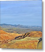 Morenci - A Beauty Of A Copper Mine Metal Print