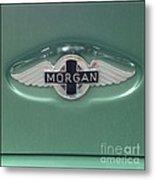 Morgan Car Emblem Metal Print
