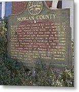 Morgan County Metal Print