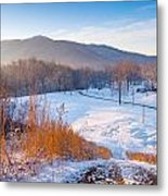 Morgan County Tennessee Metal Print