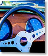 Morgan Steering Wheel Metal Print