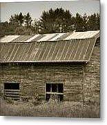 Morganton Barn Metal Print