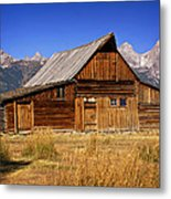 Mormaon Barn 3 Metal Print