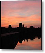 Morning At Angkor Wat Metal Print