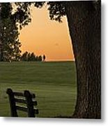 Morning Contemplation Metal Print