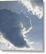 Morning Cumulus Metal Print