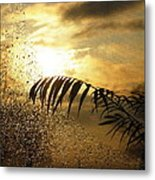 Morning Dew Screen Metal Print