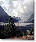 Morning East Glacier Park Metal Print