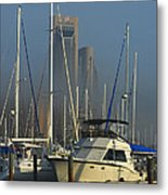 Morning Fog Ll Metal Print