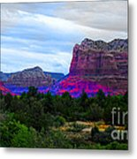 Glorious Morning In Sedona Metal Print