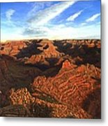 Morning Glory - The Grand Canyon From Kaibab Trail  Metal Print