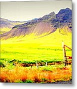 Morning Has Broken And It Will Probably Break Again  Metal Print