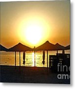 Morning In Greece Metal Print
