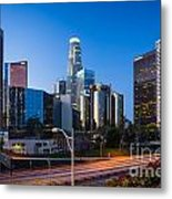 Morning In Los Angeles Metal Print by Inge Johnsson