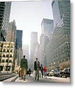 Morning In Manhattan Metal Print