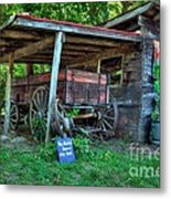 Morning In Rabbit Hash 2 Metal Print by Mel Steinhauer