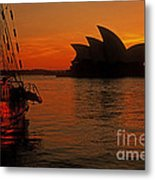Morning In Sydney Harbour Metal Print