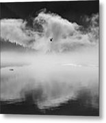 Morning In The Inlet Metal Print