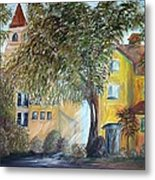 Morning In The Old Country Metal Print