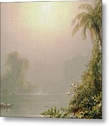 Morning In The Tropics Metal Print by Frederic Edwin Church