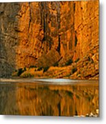Morning Light In The Canyon Metal Print