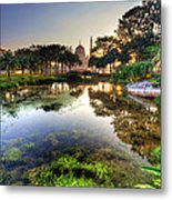 Morning Mosque Metal Print