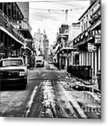Morning On Bourbon Street Metal Print