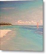 Morning On The Beach Metal Print by The Beach  Dreamer