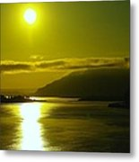 Morning On The Columbia River Metal Print