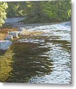 Morning On The Little River Metal Print