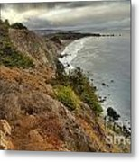 Morning Pacific Storm Clouds Metal Print