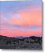 Morning Paints Metal Print