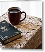 Morning Read Series 3 Metal Print