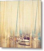 Morning Sail Metal Print