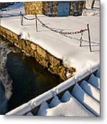 Morning Snow Metal Print