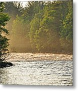 Morning Sunbeam Metal Print