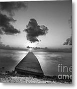 Morning Sunrise By The Dock Metal Print