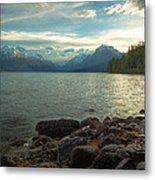 Mornings At Lake Mcdonald Metal Print by Stuart Deacon