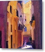 Moroccan Light Metal Print by Bob Galka