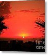 Moroccan Sunset Metal Print