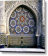 Moroccan Well Metal Print