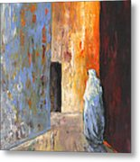 Moroccan Woman 02 Metal Print